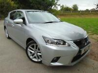 2015 Lexus CT 200h 1.8 Advance 5dr CVT Auto 1 Owner! Nav! DAB! 5 door Hatchb...