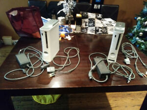 xbox 360 consoles games controllers wireless internet adaptor
