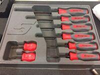 Snap on screwdriver set
