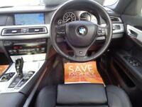 BMW 7 SERIES 3.0 730D M SPORT 4DR BLACK - SOFT CLOSE-PRO NAV-REVERSE CAM
