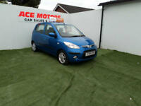 2008 58 HYUNDIA i10 1.2 COMFORT,5 DOOR ONLY 11000 MILES WITH FULL SERV HISTORY