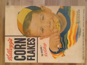 Norman Rockwell 1953 Kellogg's Corn Flakes Store Display Box