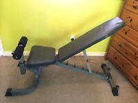 Bodymax Adjustable weights bench