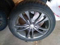 """17"""" Sacchi S2 220 Rims with Winter Tires"""