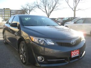 2012 Toyota Camry, SE Model, NAVIGATION, Sunroof, Very Clean