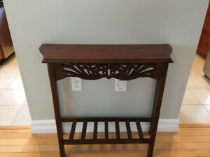 Entry/Foyer table
