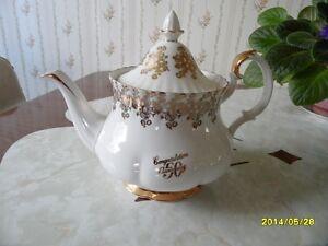 Royal Albert 50th Wedding Anniversary Teapot