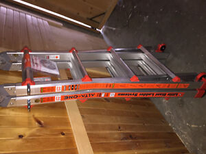 Brand new little giant ladder and mounting rack 17""