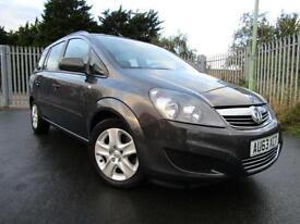2013 Vauxhall Zafira 1.7 CDTi ecoFLEX Exclusiv 32,000 Turbo Diesel 7 Seats 5 ...