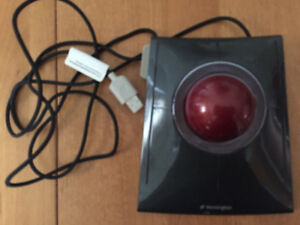 Souris/mouse trackball slimblade (kensington)