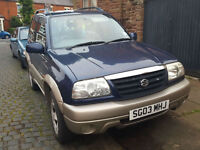 Suzuki Grand Vitara 1.6 SE PX Swap Anything considered 12 months mot