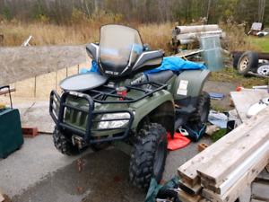 Diesel arctic cat atv super duty