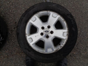 4 Ford rims ( with 'Ford' logo) Aluminum Alloy