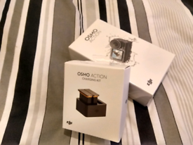 BRAND NEW DJI OSMO ACTION + Charging combo kit