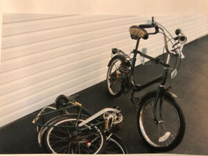Bycycles Foldable x 2