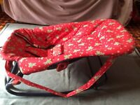 Mothercare Baby Rocker, adjustable positions, rocker or stationary