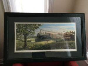 James Lumbers  - The Crossing - Framed Print - MINT condition