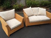 Next Conservatory Furniture - Sofa & Chair