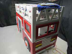 EXTREME  MACHINE  FIRE  ENGINE  Bunk Bed / Loft Bed & Play House
