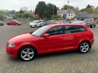 2010 60 Red Audi A3 1.6 Technik SportBack 84000 Miles PK60VGC Great Cheap AUDI!!