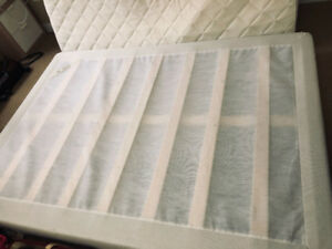 【$100】 SULTAN HANESTAD Double Size Mattress with Boxspring