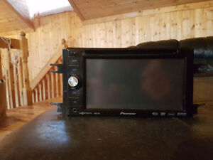 Pioneer AVIC-D3 Double Din touch screen car stereo