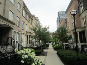 Liberty Village Upper Unit Townhouse with Private Rooftop Patio