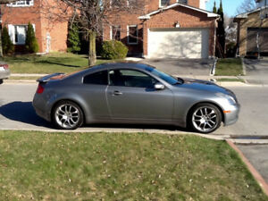 2005 Infiniti G35 Coupe M6 full loaded with gps new price