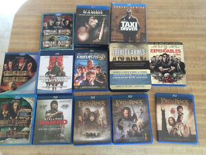HUGE LOT OF BLUE-RAY + LIMITED EDITION DVDS COLLECTION SALE