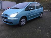 SOLD Trade In Vehicle Citroen Xsara Picasso 1.6HDi 110hp 2005MY Exclusive