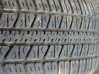 4 SUMMER TIRES 185 65 14 MONTREAL WEST ISLAND 100.00$