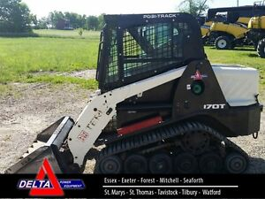 2014 Terex R070T Compact Rubber Track Loader