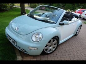 VW Beetle Convertible 1.8t