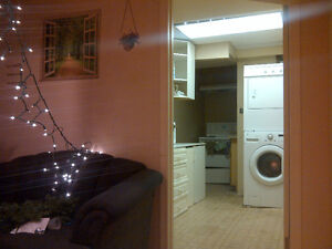 edgemont NW walkup basement bedroom incl utility close transit