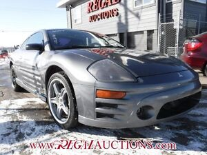 2004 MITSUBISHI ECLIPSE GT 2D COUPE