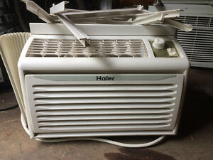 2 air conditioners for sale / both run great $50