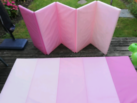 Ikea Plufsig Baby Toddler Cushion Playmats Pink x 2