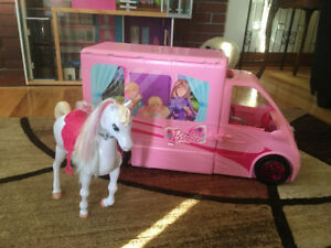 Barbie Camper and Horse