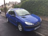 2005 PEUGEOT 206 1.4 HDI, MANUAL***MOT MAY 2017***HE-MAN CONTROLS IDEAL LEARNER CAR***£30 A YEAR TAX
