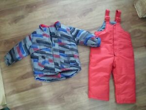 TODDLER SNOWPANTS AND JACKET