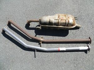 06-11 Hyundai Accent exhaust
