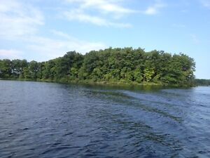 Half of 5 acre island for sale