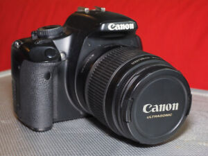 Canon Rebel XSi with 18-55mm lens: $180