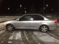 2005 Honda Civic Si trade for ATV 4x4 or cash only.