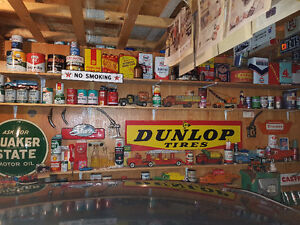 selling collection of oil and gas memorabilia