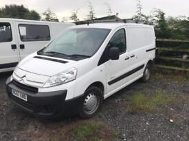 CITROEN DISPATCH 1200 L1H1 SWB HDI 90, White, Diesel, 2008 57 78000 miles