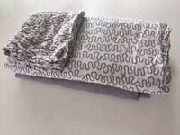IKEA Bedding set for double size bed (duvet cover and fitted sheets)