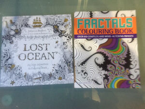 Two colouring books. New.
