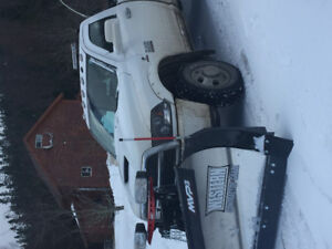 2015 Ram 3500 with sno plow
