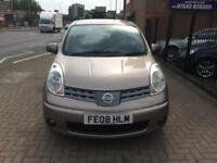 2008 Nissan Note 1.6 16v Automatic Acenta Lonh Mot 2 Owners Bargain